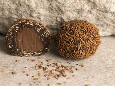 Chocolate Ball Light Truffle